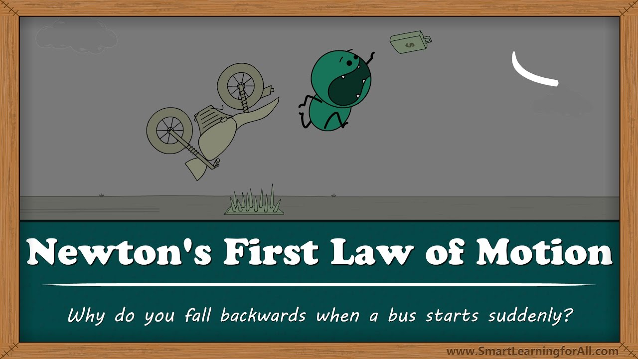 Why do you fall backwards when a bus starts suddenly? | #aumsum