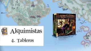 Alquimistas E04 - Tableros