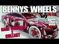 GTA ONLINE BENNYS WHEELS RARE VEHICLES 2 COLLECT ONLINE NEW