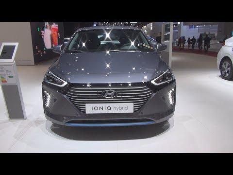Hyundai Ioniq Hybrid  Creative () Exterior and Interior