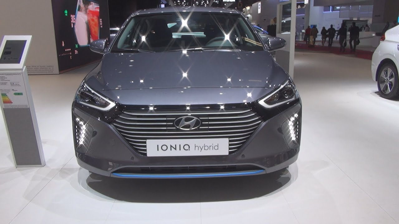 Hyundai Ioniq Hybrid 141 Creative 2019 Exterior And Interior