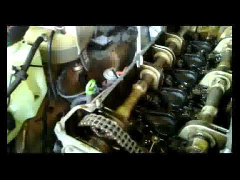 110 Engine Timing Diagram Adjust Valve Play 2 2 Service Mercedes M110 Engine Youtube