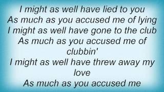 Keyshia Cole - I Should Have Cheated Lyrics