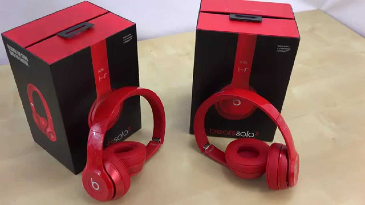 a89ba21d9df Beats by Solo 2 vs Fake Solo 2 | How to Tell The Differences | Real Vs.  KnockOffs by Dr.Dre - YouTube