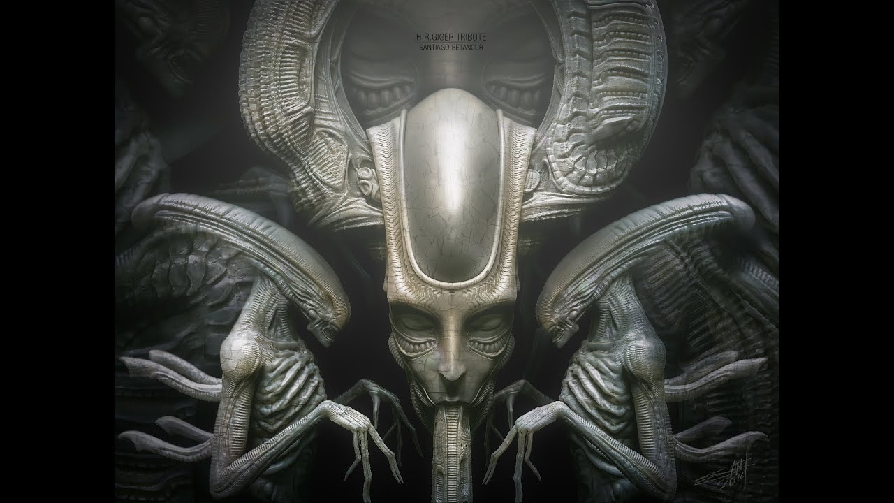 H R  Giger Tribute