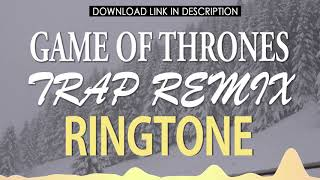 "Trap remix of the theme greatest tv show ""game thrones"" as ringtone on your iphone. click link below and download: https://apple.co/38gzibj"