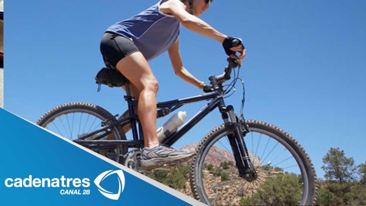 Imagen De Niña Andando En Bicicleta: ¿Cómo Aprender A Andar En Bicicleta De Montaña?