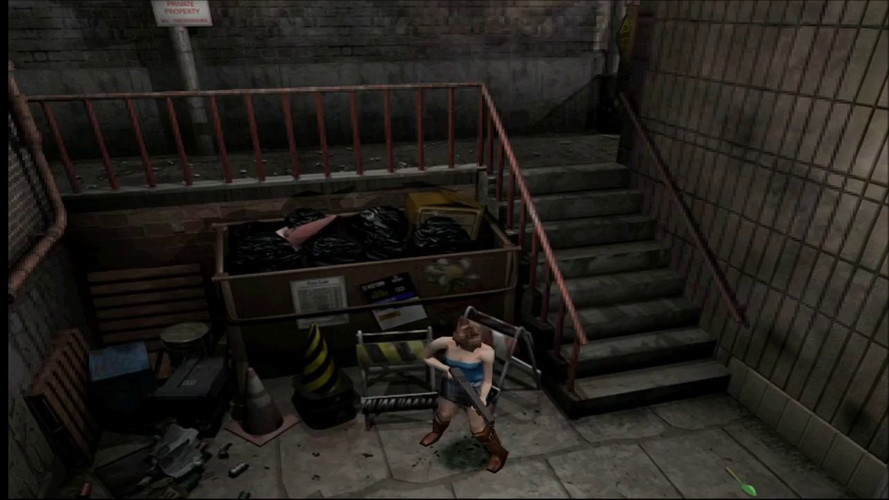 Resident Evil 3 Nemesis - HD Gamecube - Gameplay (Dolphin)