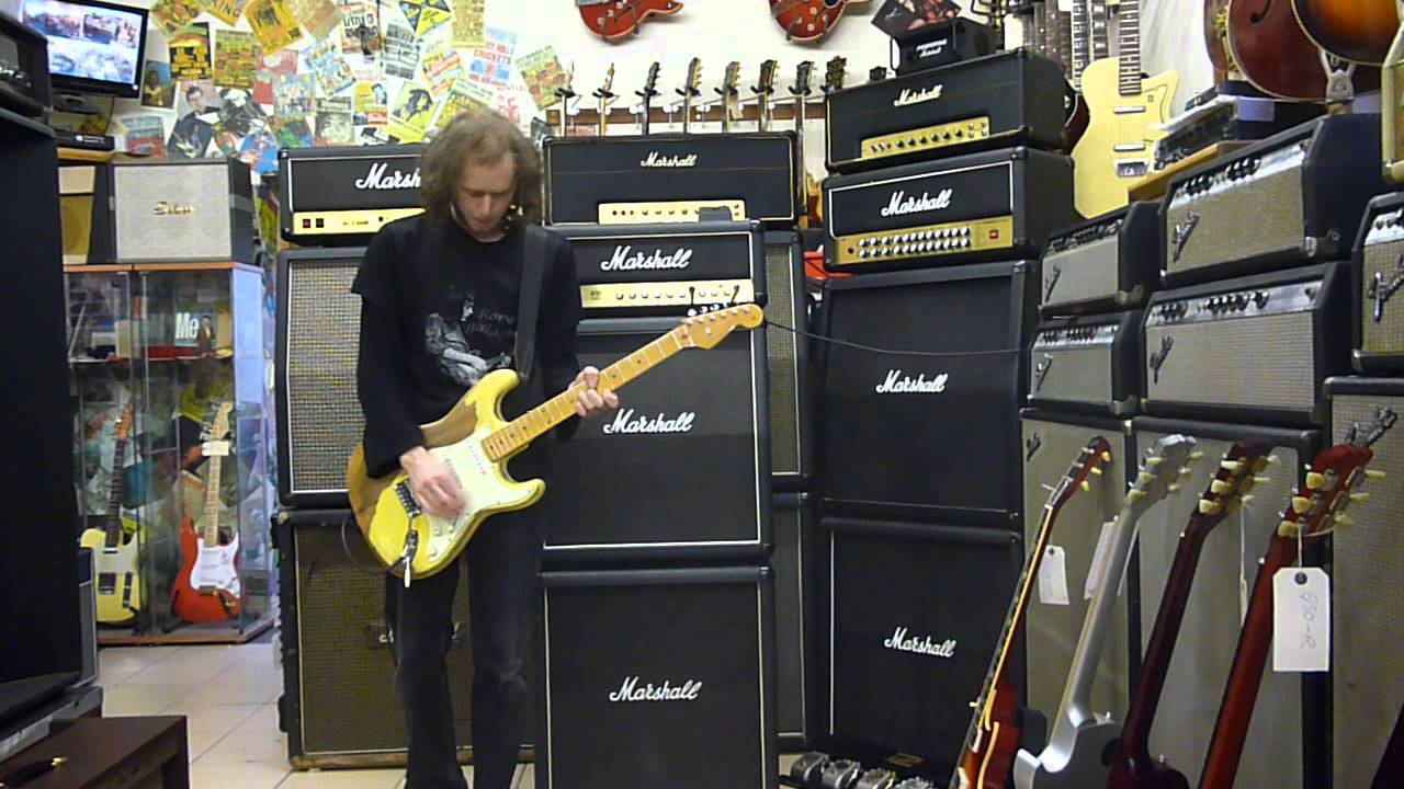 1987 Marshall Artist Full Stack  YouTube