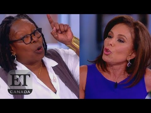 Whoopi Responds To Judge Jeanine's Attack