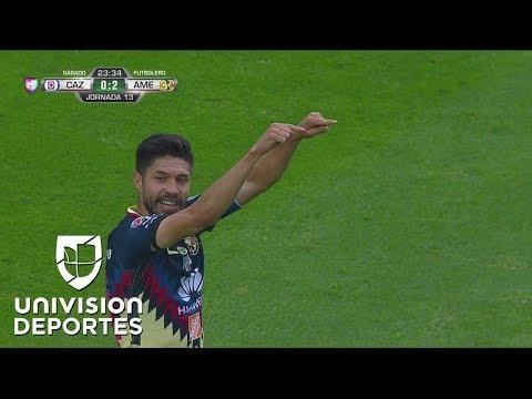 ¿Bonito? 'Hermoso' gol de Oribe Peralta contra Cruz Azul