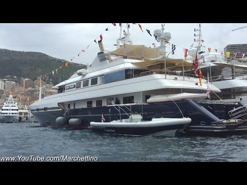 My Monaco F1 Grand Prix Experience on a YACHT!!