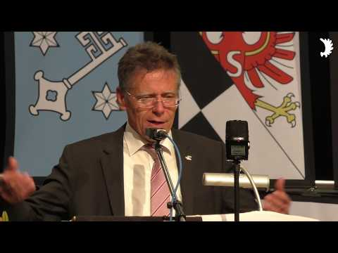 Landrat Petrauschke (CDU) begrüßt Ostpreußen zum Jahrestreffen 2017 im Rößeler Patenkreis Neuss