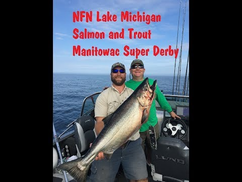 Manitowoc Super Derby 2019 (Winning Rainbow Trout) Lake Michigan Salmon Fishing