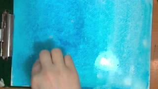Эффекты в акварели. Видеоурок по рисованию Анны Кошкиной.