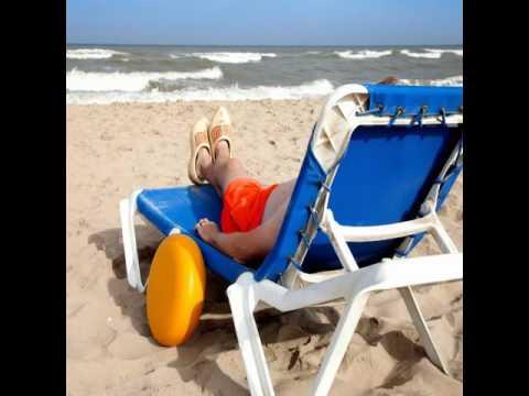 Shaded Beach Chair