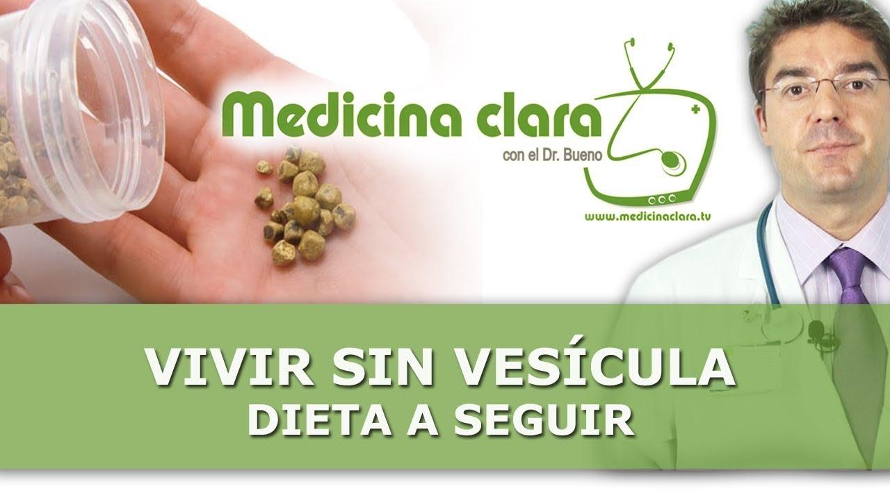 dieta post extirpacion de vesicula