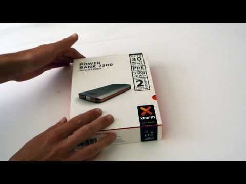 A-Solar Xtorm Power Bank 7300 AL370 batterybar unboxing (NL)