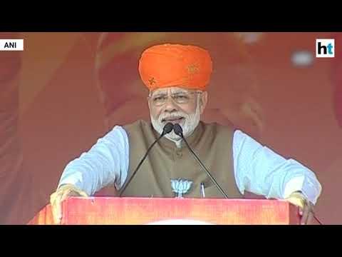 Watch: PM Modi's 'fatwa' retort after Rahul Gandhi's 'Bharat Mata' barb Mp3
