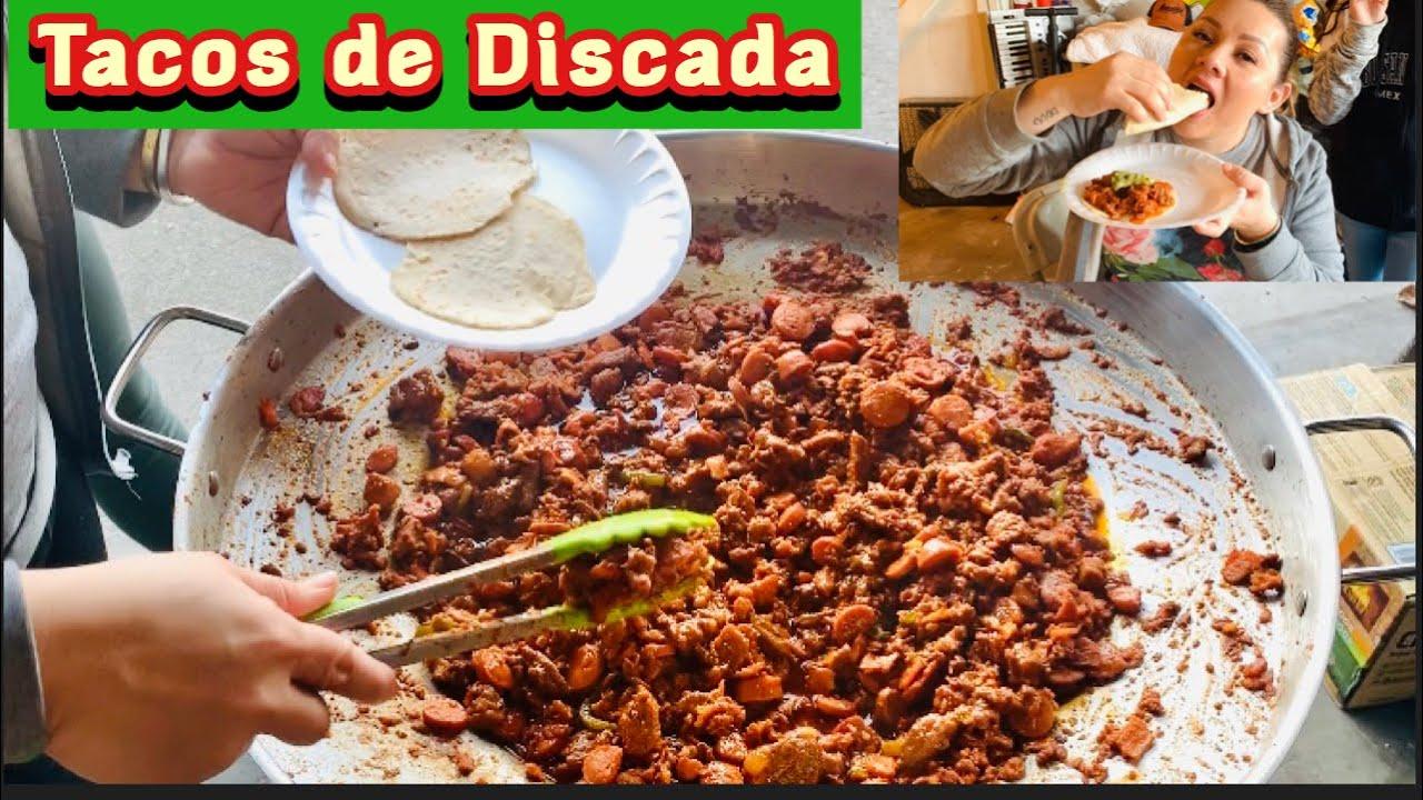 Tacos De Discada Facil Mexican Discada Youtube