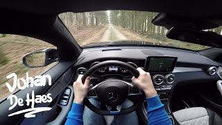 Mercedes GLC Coupé 250d 4MATIC POV test drive GoPro