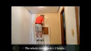 Master Bedroom Closet Renovation Part 4  Paint Inspector Shows Up!