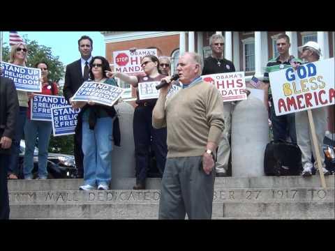 Boston Stand Up for Religious Freedom - Ambassador Raymond L. Flynn