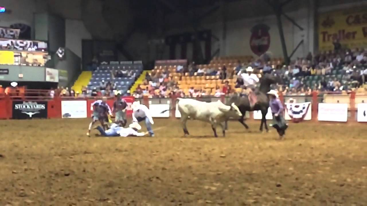 Worst Rodeo Wreck Stockyards Rodeo Cowtown Coliseum Youtube