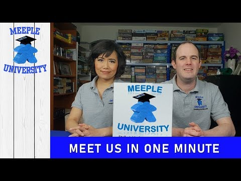 Meeple University, Brings You a Variety of Quality Board Game Videos. Meet us in One Minute