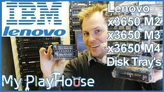 Server Hard Drive Trays for the Lenovo x3650 M2 M3 & M4 - 670