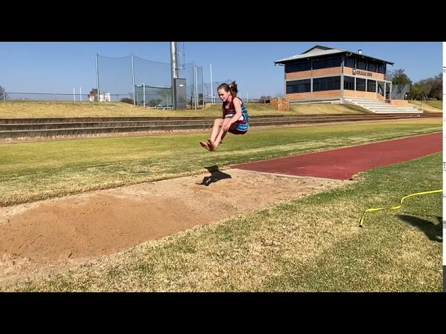 Janelle Long Jump