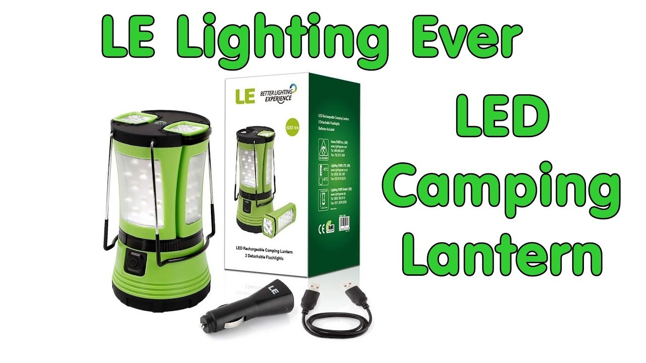 Led Camping Lantern By Lighting Ever