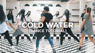 Cold Water (DANCE TUTORIAL) - Major Lazer feat. Justin Bieber | @besperon Choreography #ColdWater