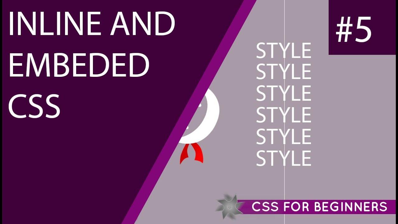Inline internal external css tutorial | inline internal external.