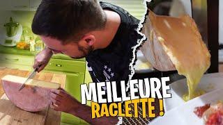 La meilleure Raclette de notre vie ! (attention si vous avez faim...)