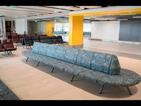 Tour of Gatwick Airport's new gate rooms