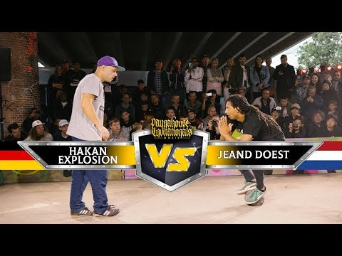 Hakan Explosion (GER) VS Jeand Doest (NED) | TOP 16, Panna World Championships 2019