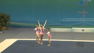 Russia (RUS) -  2016 Acrobatic Worlds, Putian City (CHN) Combined  Women
