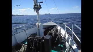 Морской поход на форт Тотлебен(06.06.2015 Документальное видео о морской прогулке по Финскому заливу на катере
