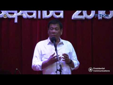 Meeting with the Filipino Community in Laos (Speech) 9/5/2016