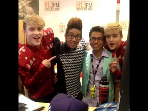 Jedward - Radio 91.3 Hot 30 Countdown 17/07/12