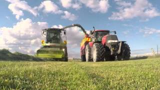 Grass silage NZ Bluegrass contracting 2016