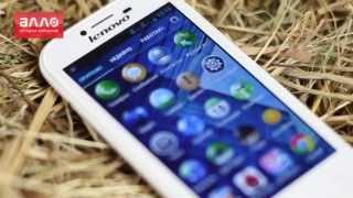 видео обзор смартфона Lenovo A706 4.5
