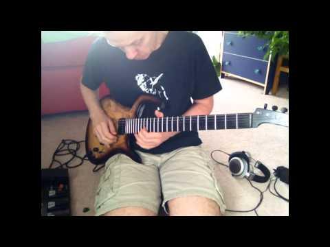 Roland GR55 - parker mojo - improvised funk jams - solo guitar