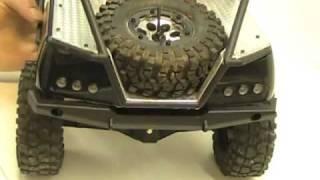 Honcho Front Bumper Modification & Rear Bumper Axial SCX10 trail TR Hop-Ups