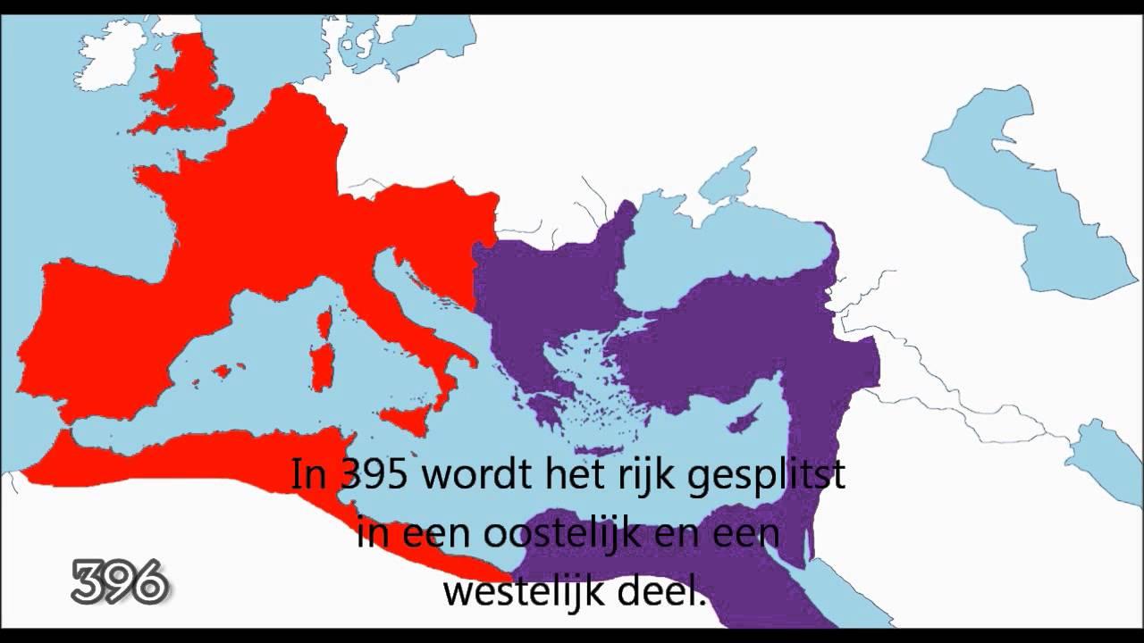 Goede De uitbreiding van het Romeinse Rijk - YouTube ZZ-09