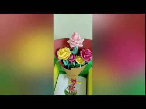 DIY/ paper flower Bouquet