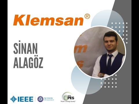 2. İzmir Enerji Zirvesi'18 - Sinan ALAGÖZ - Klemsan A.Ş. - ENERNET