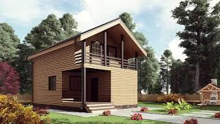 видео Проекты одноэтажных и двухэтажных угловых домов и коттеджей