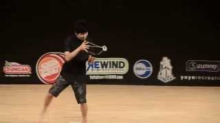 Magia con el yoyo. Campeón Japones 2013 - Yoyodesign presents  2013 Japan National Yoyo Contest 1A C